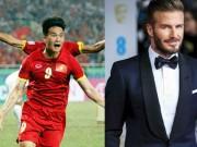 Bóng đá - So sánh Công Vinh như Beckham có gì sai?