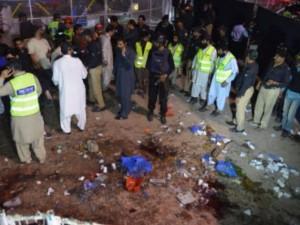 Đánh bom công viên trẻ em ở Pakistan, 69 người thiệt mạng