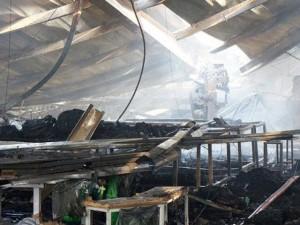 Tin tức trong ngày - Cháy lớn, công ty may túi xách ở Sài Gòn bị đổ sập