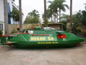 Tin tức trong ngày - Phó Thủ tướng ủng hộ thử nghiệm tàu ngầm Hoàng Sa trên biển