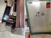 An ninh Xã hội - Kẻ trộm ngồi suốt 2 tiếng để phá két ngay tại trụ sở