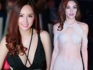 """Thời trang - Mỹ nhân Việt gợi cảm """"đốt mắt"""" chẳng cần váy hiệu"""