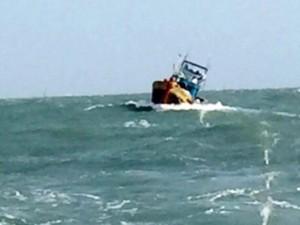 Tin tức trong ngày - Cứu 7 ngư dân sau 2 ngày vật lộn trên tàu cá chết máy