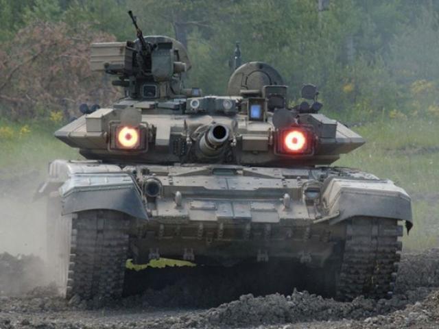 Siêu tăng T-90 Nga đối đầu vũ khí diệt tăng TOW của Mỹ
