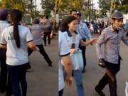 An ninh Xã hội - Nữ công nhân bị chém trước cổng công ty