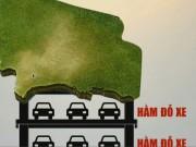 Tài chính - Bất động sản - Không có công trình nổi ở bãi đỗ xe ngầm CV Thống Nhất