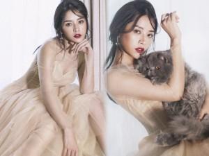 Thời trang - Chi Pu hé lộ clip hậu trường chụp ảnh gợi cảm