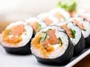 Sống lâu hơn nhờ ăn sushi