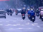 Tin tức trong ngày - Chấn chỉnh xe máy đi thẳng nhưng bật xi-nhan ở Hải Phòng