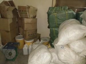 Thị trường - Tiêu dùng - HN: Thu giữ 2,5 tấn phụ gia bim bim không rõ nguồn gốc