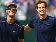 Thể thao - Tin thể thao HOT 30/3: Anh trai hết lời ca ngợi Andy Murray