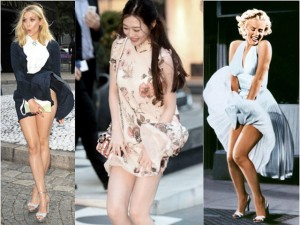 "Loạt pha tốc váy gợi nhớ ""bom sex"" Marilyn Monroe"