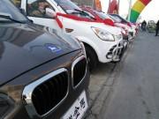 """Ô tô - Xe máy - Xe sang """"rởm"""", giá 80 triệu đồng tràn ngập đường phố Trung Quốc"""