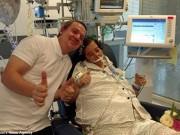 Sức khỏe đời sống - Bệnh nhân ung thư bất ngờ thoát chết sau đám cưới trên giường bệnh