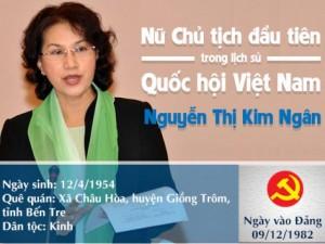Tin tức trong ngày - [Infographic] Chân dung nữ Chủ tịch QH đầu tiên của VN