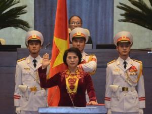 Tin tức trong ngày - Bà Nguyễn Thị Kim Ngân trở thành nữ Chủ tịch QH đầu tiên
