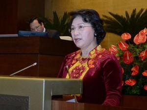 Tin tức trong ngày - Tân Chủ tịch QH thề tuyệt đối trung thành với Tổ quốc, nhân dân