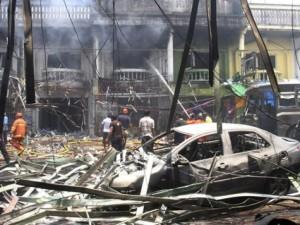 Thế giới - Bom nổ liên hoàn ở Thái Lan