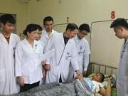 Sức khỏe đời sống - Hà Tĩnh: Hai bệnh nhân bị chấn thương tim, phổi do trâu húc