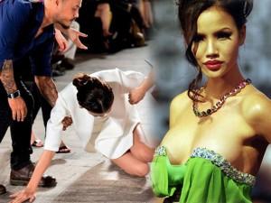 """Chân dài Việt nổi tiếng cũng có lúc """"vồ ếch"""", tụt váy"""