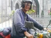 Tin tức trong ngày - Phượt thủ dị nhân tuổi 86 và chiếc xe máy cổ lỗ sĩ