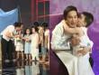 Con trai Kim Tử Long đáng yêu khi phụ diễn cho học trò của bố