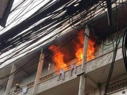 Tin tức trong ngày - Cháy chung cư ở Sài Gòn, dân nháo nhào tháo chạy