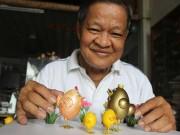 Tin tức trong ngày - Ước mơ của nghệ nhân tạo hình từ vỏ trứng