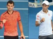 Tin thể thao HOT 8/1: Dimitrov hạ Nishikori đoạt cúp Brisbane
