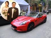 Choáng với dàn siêu xe trong đám cưới Hoa hậu Thu Ngân