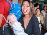 Ca nhạc - MTV - Thảo Trang đưa con trai về nước đón Tết