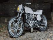 Xe máy - Xe đạp - Ngắm 1982 Honda CX500 đặc biệt với vật liệu từ đá