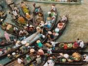 Du lịch - Khám phá những khu chợ nổi ấn tượng nhất Đông Nam Á