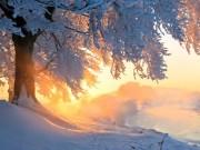 Vẻ đẹp  ma thuật  của băng tuyết mùa đông trên khắp TG