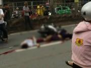 Tin tức trong ngày - Va chạm xe tải, 3 thanh niên đi chung xe máy tử vong