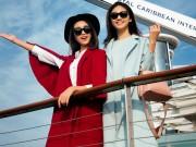"""Mỹ Linh, Thanh Tú  """" sang chảnh """"  trên du thuyền triệu đô"""