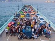 Màn tụ hội ấn tượng của 50 chiếc McLaren tại Hồng Kông