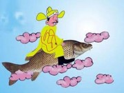Tại sao ông Công, ông Táo cưỡi cá chép lên chầu trời?