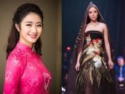 Hoa hậu Thu Ngân, Kỳ Duyên diện họa tiết gà đẹp ngút mắt