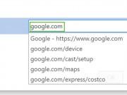 Mẹo mở nhanh các trang yêu thích trên trình duyệt Chrome