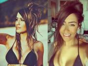 Sắc vóc quá gợi tình của em gái tiền đạo Neymar