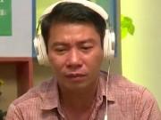 Công Lý khóc trên truyền hình khi bố nhắc đến Thảo Vân