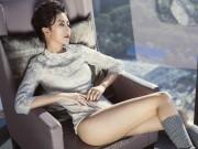 Hot girl Quỳnh Anh Shyn mặc bodysuit khoe chân thon dài tuyệt đẹp