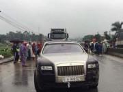 Thông tin thêm chiếc siêu xe Rolls-Royce Ghost vừa đâm chết người