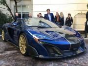 Siêu xe McLaren 675LT dát vàng thật trị giá 18 tỷ đồng