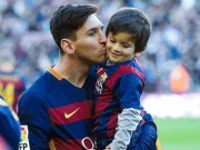 Bạn trẻ - Cuộc sống - Cậu ấm của huyền thoại Messi hứa hẹn trở thành siêu sao bóng đá
