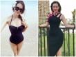 Ngắm body cỡ siêu mẫu của con dâu tỷ phú Hoàng Kiều