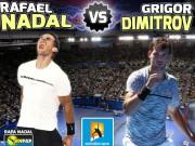 Chi tiết Nadal - Dimitrov: Kịch tính đến cùng (KT)