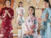 6 kiểu áo dài lạ mắt khiến chị em Việt mê nhất xuân này