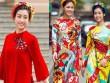 Hoa, á hậu Việt mặc gì mừng xuân Đinh Dậu?